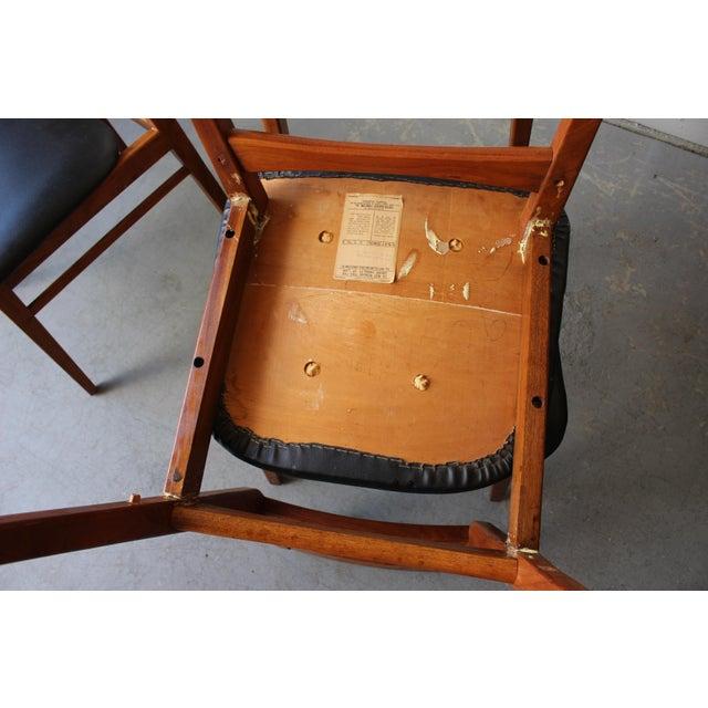 Mid-Century Danish Modern Foster-McDavid Furniture Inc. Chairs - Set of 3 - Image 10 of 11