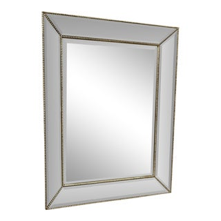 Restoration Hardware Venetian Beaded Mirror For Sale