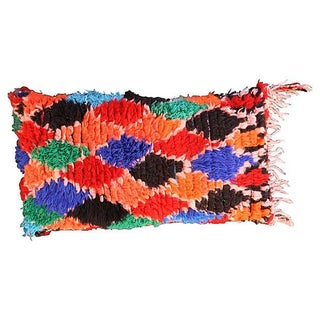 Orange & Blue Moroccan Berber Sham