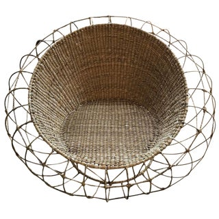 Mario Lopez Torres Modern Orb Chair For Sale