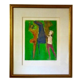 Marino Marini Color Etching Shakespeare I For Sale