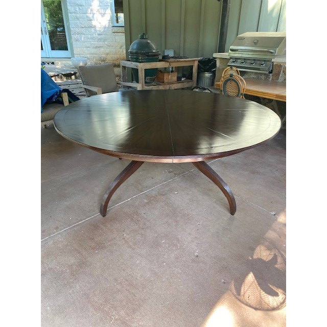 2000 - 2009 Regency Rose Tarlow Melrose House Dining Table For Sale - Image 5 of 10