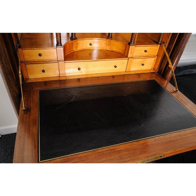 Antique 1817 Ipolito Ceri Secretaire a Abbant Secretary Desk For Sale - Image 4 of 12