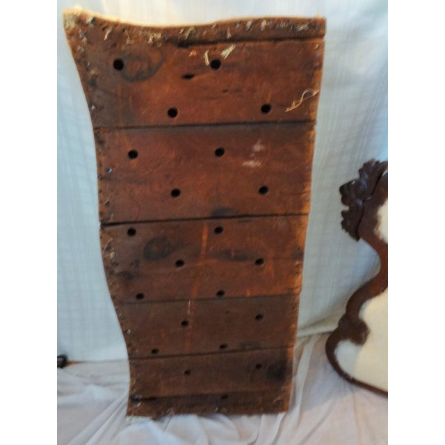 Early 20th Century Antique Hand-Made Love Seat For Sale In Savannah - Image 6 of 7