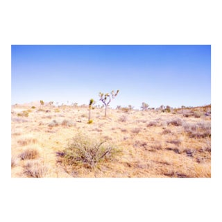 Cheryl Maeder, Desert Plains Photograph, Archival Photographic Watercolor Print For Sale