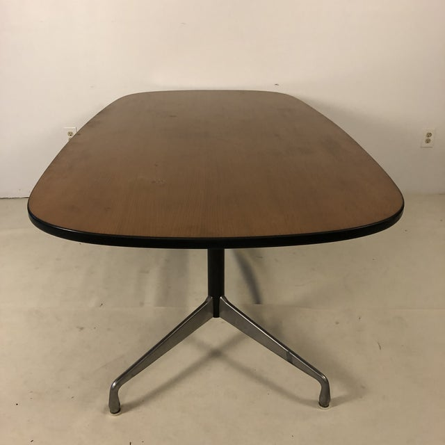 Herman Miller Herman Miller Aluminum Group Conference Table by Charles Eames For Sale - Image 4 of 11