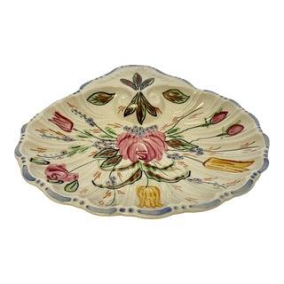 Vintage Blue Ridge Ceramic Shell Dish For Sale