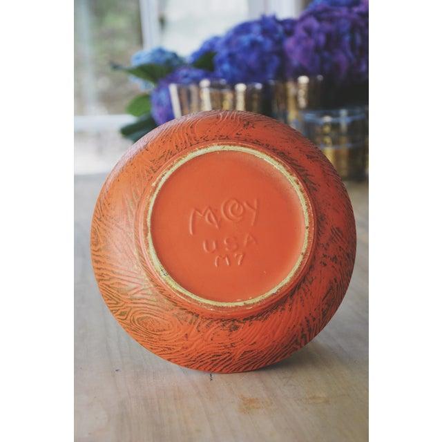 Golden Decorative McCoy Bowl - Image 5 of 6