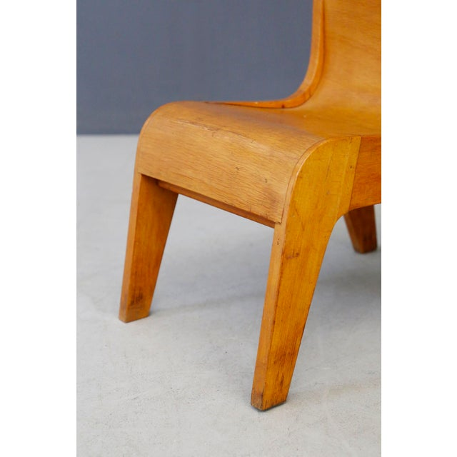 Mid-Century Modern Children Italian Chair Prototype by Pierluigi Ghianda, 1960s For Sale - Image 3 of 7