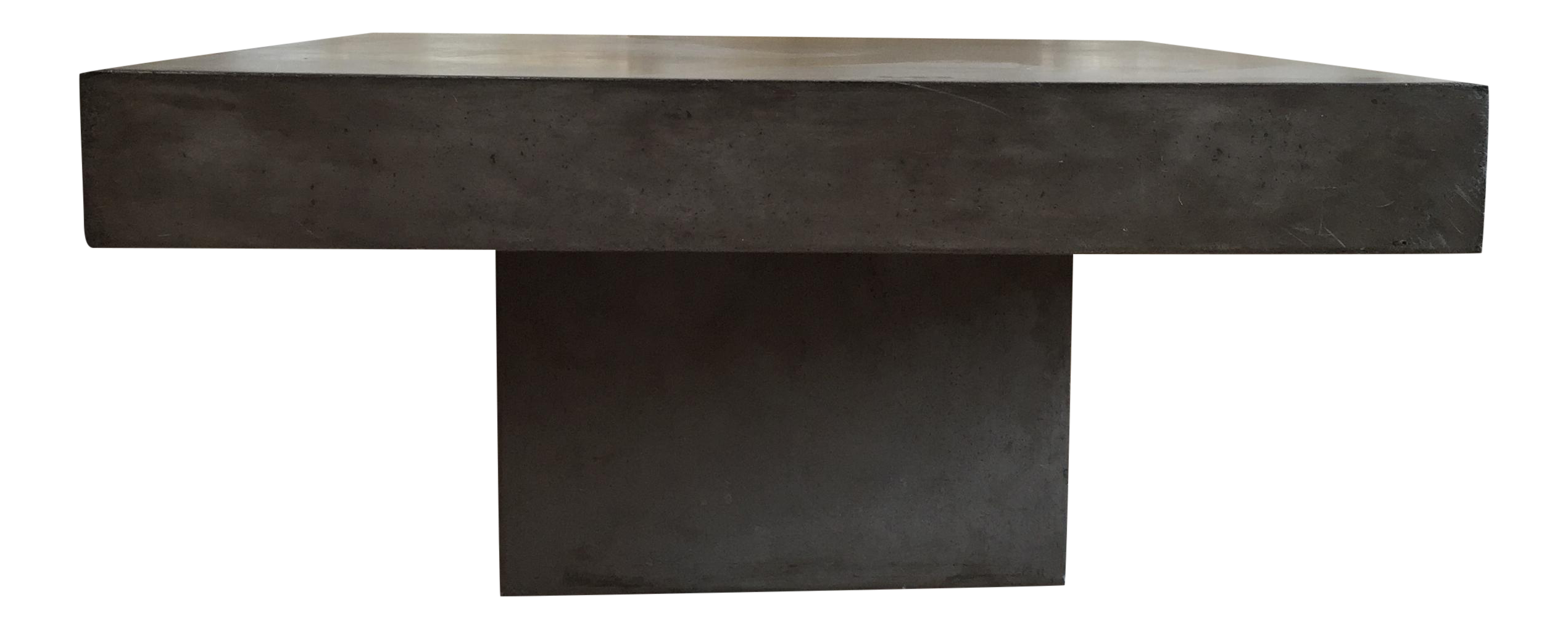 Cb Concrete Coffee Table - Cb2 element coffee table