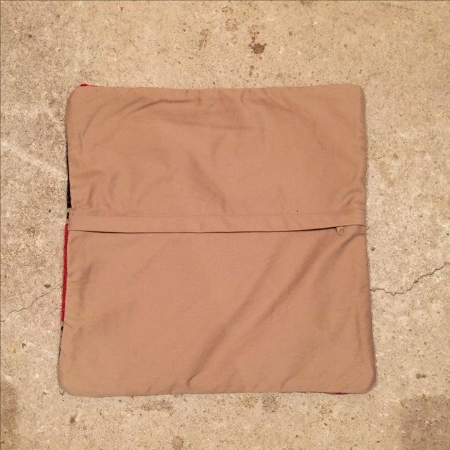 Vintage Striped Kilim Pillow - Image 5 of 5
