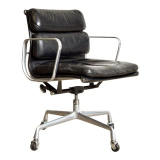 Original Eames for Herman Miller Aluminum Group Soft Pad Management Office Chair with Arms