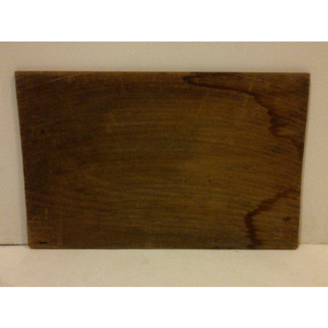 """Vintage Wood Crate Siding """"Cross Sterilized Tacks"""" For Sale - Image 5 of 5"""