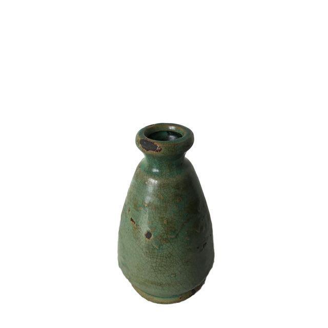Rustic Sage Green Vase - Image 4 of 4