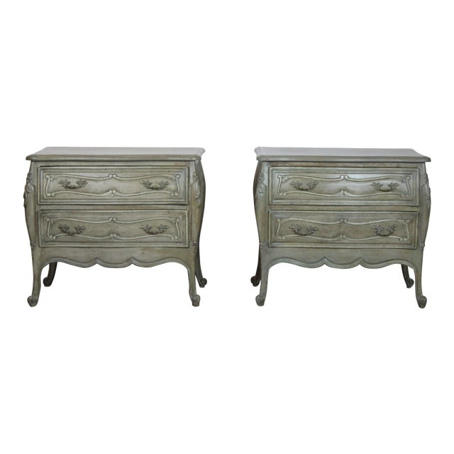 20th Century Louis XV Style Nightstands - a Pair For Sale