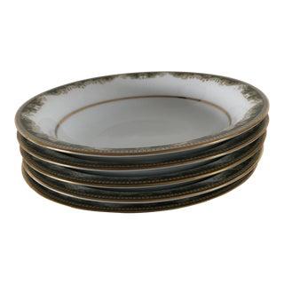 "1970's Noritake Fine China ""Warrington"" 6872 Soup Bowls S/6 For Sale"