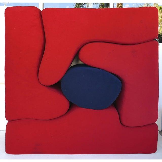 Knoll Roberto Matta Malitte Modular Lounge Furniture - Set of 5 For Sale - Image 9 of 9