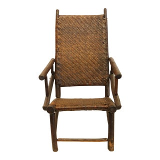 Mid 20th C. Vintage Old Hickory Lounge Armchair For Sale