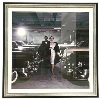 "1952 ""Couple in Parking Garage"" Photograph Print by John Rawlings For Sale"
