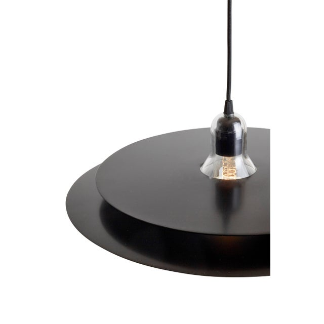 Contemporary Black Cymbal Suspension, La Chance For Sale - Image 3 of 6