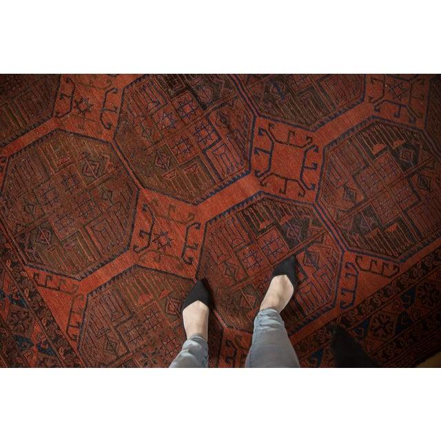 "Vintage Ersari Carpet - 7'6"" X 11'4"" For Sale In New York - Image 6 of 12"