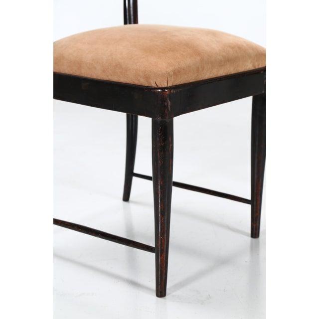 Osvaldo Borsani Osvaldo Borsani Dining Chairs Set From 1940 For Sale - Image 4 of 7