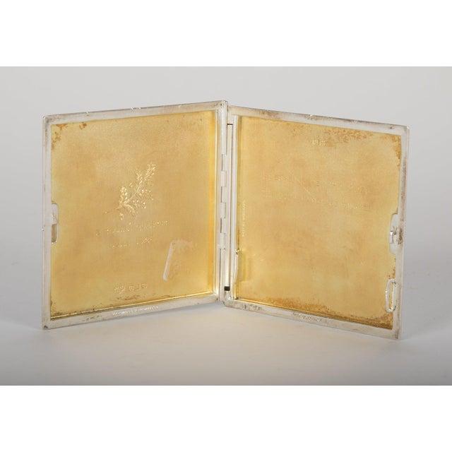 Metal Silver Cigarette Box For Sale - Image 7 of 13