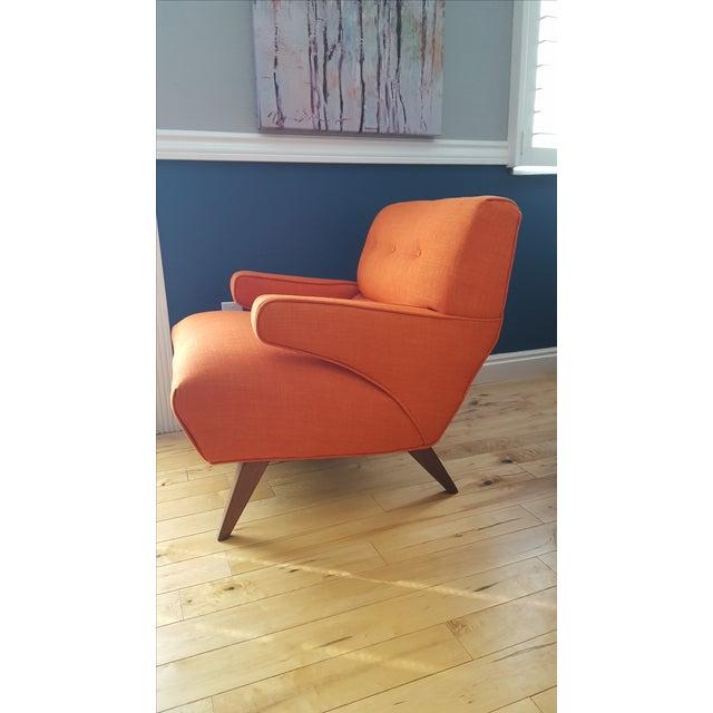 Custom Mid-Century Atomic Lounge Chair - Image 3 of 7