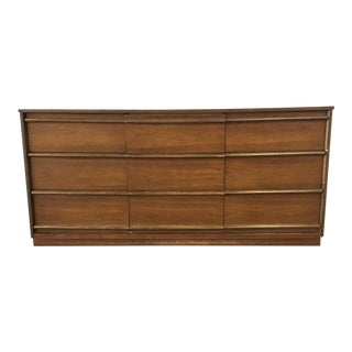 1960s Mid-Century Modern Bassett Furniture Dresser For Sale