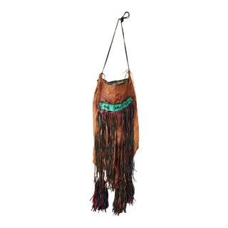 Tuareg Goat Leather Camel Bag For Sale