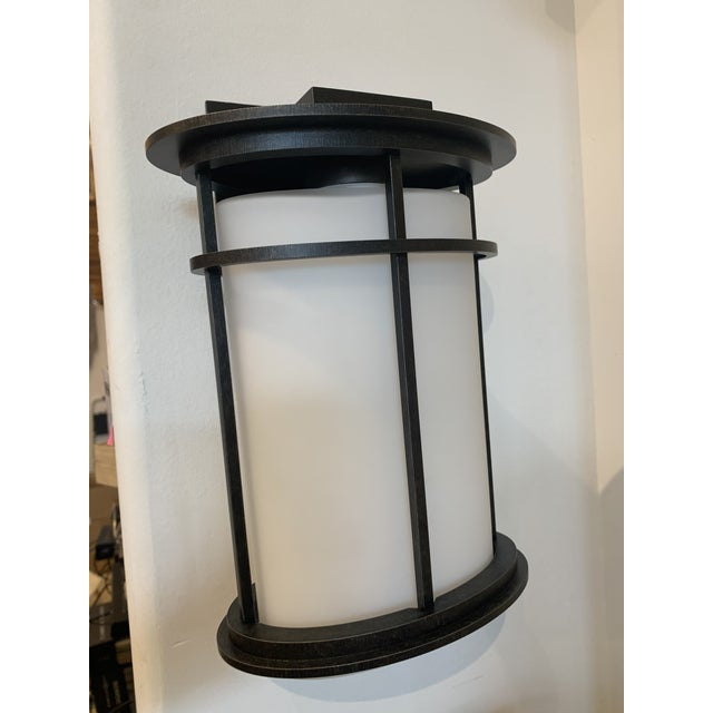 2010s Hubbardton Forge Province Outdoor Sconce For Sale - Image 5 of 5