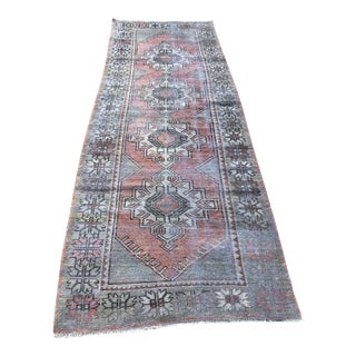 1960s Turkish Handmade Runner-2′11″ × 9′2″ For Sale