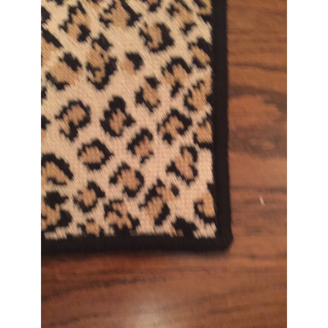 "Stark Folsom True Leopard Rug - 2'6"" X 3' For Sale - Image 4 of 4"