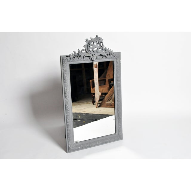 French Napoleon III Style Mirror For Sale - Image 3 of 11