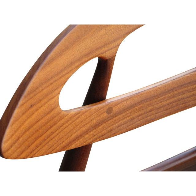 "Ivan Gern Møbelfabrik 8 Ejvind A. Johansson Dining ""Eye"" Chairs For Sale - Image 4 of 11"