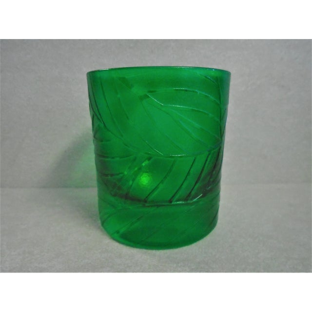 """Baroque Artel """"Jungle Baroque"""" Double Old Fashion Glasses - Set of 2 For Sale - Image 3 of 6"""