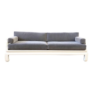 Michael Taylor for Baker Far East Style Sofa For Sale