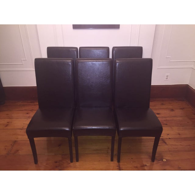 Parsons-Style Dining Chairs - Set of 6 - Image 2 of 7