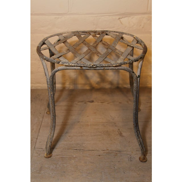 French 1920s French Garden Stools - Set of 4 For Sale - Image 3 of 5