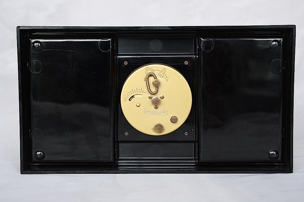 Vintage Alarm Clock Cigarette Box Phinney Walker Clock