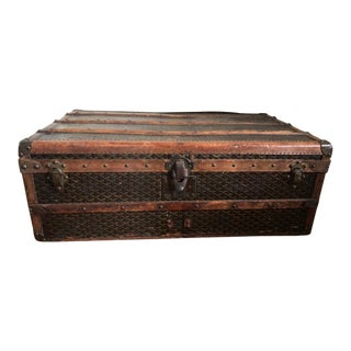 20th Century Traditional Goyard Trunk For Sale
