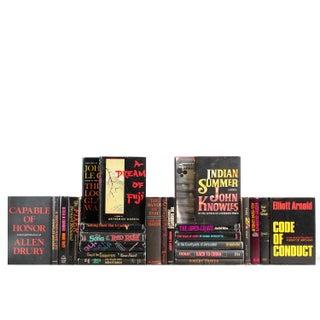 Retro Accented Book Set - Set of 25