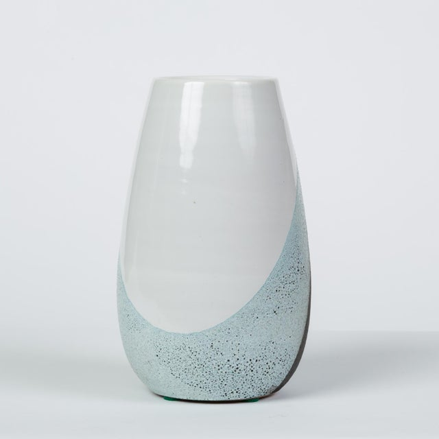 Bitossi Glazed Ceramic Vase by Ettore Sottsass for Bitossi For Sale - Image 4 of 12
