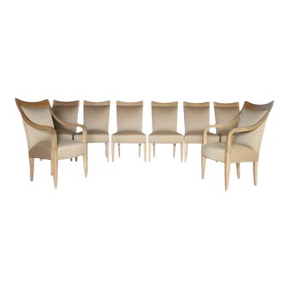 John Hutton for Donghia Set of 8 Dining Chairs For Sale