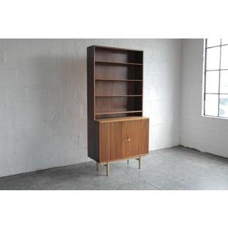 Vintage Walnut Bookshelf Preview
