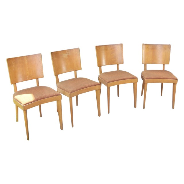 Heywood Wakefield Dining Chairs - Set of 4 - Image 1 of 4