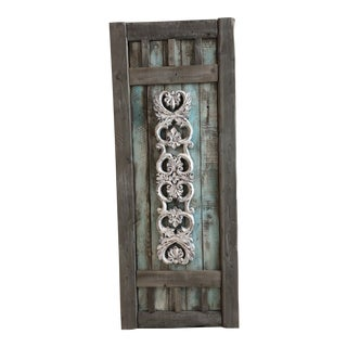 Tg Design Large Rustic/Shabby Chic Wall Decor For Sale