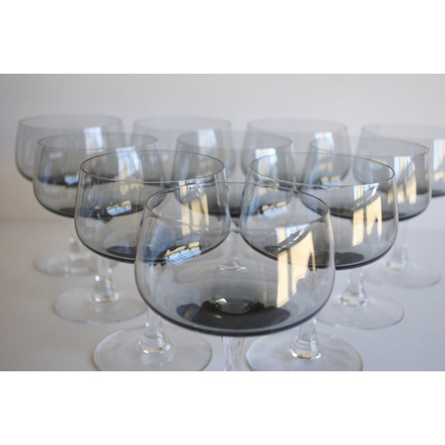 Vintage Champagne Coupes, Set of 10 - Image 5 of 6