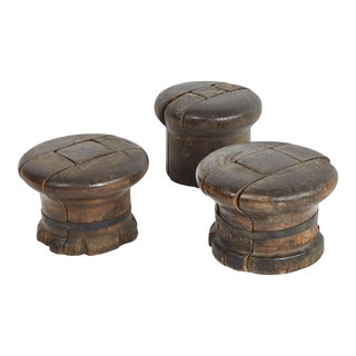 Wooden Hat Sculpture For Sale