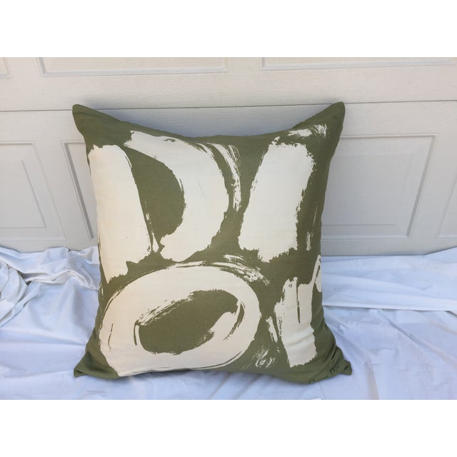 Dior Logo in pop art brush stroke with this custom pillow fashioned from a vintage Christian Dior silk scarf. New custom...